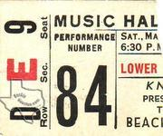 Beach Boys - Mar 25, 1967 at Houston Music Hall