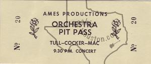 Jethro Tull - Dec 11, 1969 at Houston Music Hall