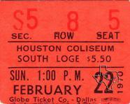 Grateful Dead - Feb 22, 1970 at Sam Houston Coliseum