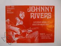 Johnny Rivers - Mar 7, 1970 at Sam Houston Coliseum