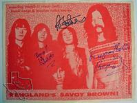 Savoy Brown - Mar 27, 1970 at Houston Music Hall