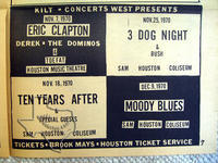 Moody Blues - Dec 9, 1970 at Sam Houston Coliseum