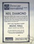 Neil Diamond - Aug 2, 1970 at Houston Music Hall
