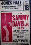 Sammy Davis Jr. - Sep 18, 1970 at Jones Hall