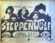 Steppenwolf - Apr 10, 1970 at Houston Music Hall
