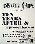 Procol Harum - Jul 25, 1970 at Hofheinz Pavilion