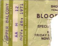 Bloodrock - Nov 26, 1971 at Houston Music Hall