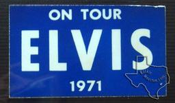 Elvis Presley - Nov 12, 1971 at Hofheinz Pavilion