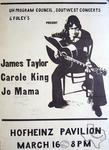 Carole King - Mar 16, 1971 at Hofheinz Pavilion