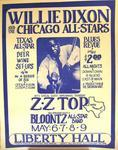 ZZ Top - May 6, 1971 at Liberty Hall