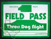 3 Dog Night - Aug 19, 1972 at The Cotton Bowl - Dallas, Texas