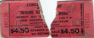 Creedence Clearwater Revival - May 15, 1972 at Sam Houston Coliseum