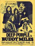 Buddy Miles - Mar 19, 1972 at Sam Houston Coliseum