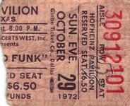 Grand Funk Railroad - Oct 29, 1972 at Hofheinz Pavilion