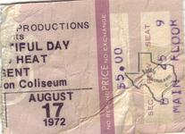 Canned Heat - Aug 17, 1972 at Sam Houston Coliseum