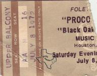Procol Harum - Jul 8, 1972 at Houston Music Hall