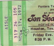 10 Years After / Ten Years After - Nov 17, 1972 at Hofheinz Pavilion