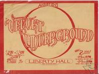 Velvet Underground - Aug 20, 1972 at Liberty Hall