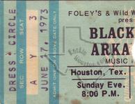 Black Oak Arkansas - Jun 17, 1973 at Houston Music Hall