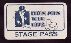 Elton John - Aug 16, 1973 at Sam Houston Coliseum