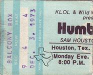 Humble Pie - Dec 3, 1973 at Sam Houston Coliseum