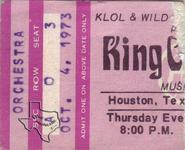 King Crimson - Oct 4, 1973 at Houston Music Hall