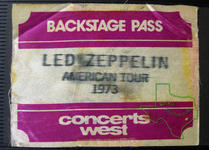 Led Zeppelin - May 16, 1973 at Hofheinz Pavilion
