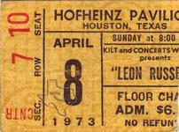 Leon Russell - Apr 8, 1973 at Hofheinz Pavilion