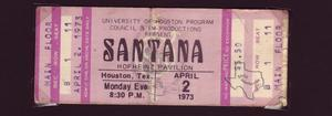 Santana - Apr 2, 1973 at Hofheinz Pavilion