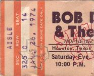 Bob Dylan - Jan 26, 1974 at Hofheinz Pavilion