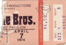 Doobie Brothers - Apr 7, 1974 at Hofheinz Pavilion
