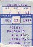 Jackson Browne - Nov 23, 1974 at Houston Music Hall