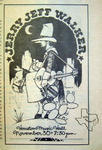 Jerry Jeff Walker - Nov 30, 1974 at Houston Music Hall