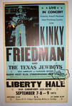 Kinky Friedman - Sep 8, 1974 at Liberty Hall