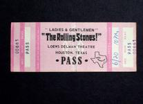 The Rolling Stones - Jun 1974 at Delman Theater