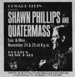 Shawn Phillips - Nov 24, 1974 at Houston Music Hall