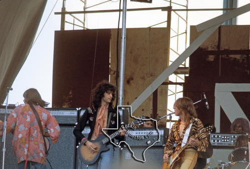 Toyota Las Cruces >> Jimmy Page - Sep 1, 1974 at Memorial Stadium, Austin ...