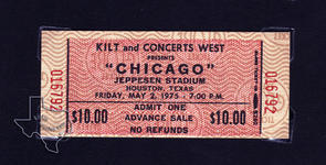 Chicago - May 2, 1975 at Jeppesen Stadium
