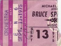 Bruce Springsteen - Sep 13, 1975 at Houston Music Hall