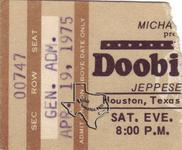 Doobie Brothers - Apr 19, 1975 at Jeppesen Stadium