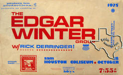 Edgar Winter - Oct 18, 1975 at Sam Houston Coliseum