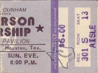 Jefferson Starship (Starship) - Aug 3, 1975 at Hofheinz Pavilion