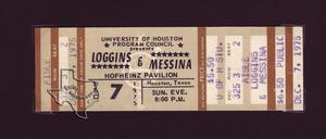 Kenny Loggins / Loggins & Messina - Dec 7, 1975 at Hofheinz Pavilion