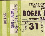 Roger McGuinn - Aug 31, 1975 at Texas Opry House