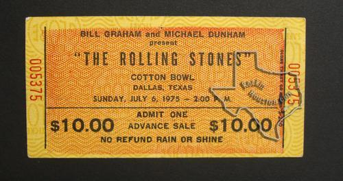 The Rolling Stones Jul 6 1975 At The Cotton Bowl