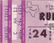 Rufus - Jan 24, 1975 at Houston Music Hall