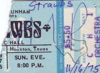 Strawbs - Nov 16, 1975 at Houston Music Hall