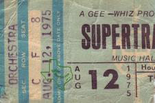 Supertramp - Aug 12, 1975 at Houston Music Hall