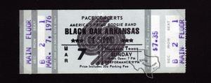Black Oak Arkansas - Mar 7, 1976 at The Summit