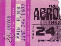 Aerosmith - Jun 24, 1977 at The Summit